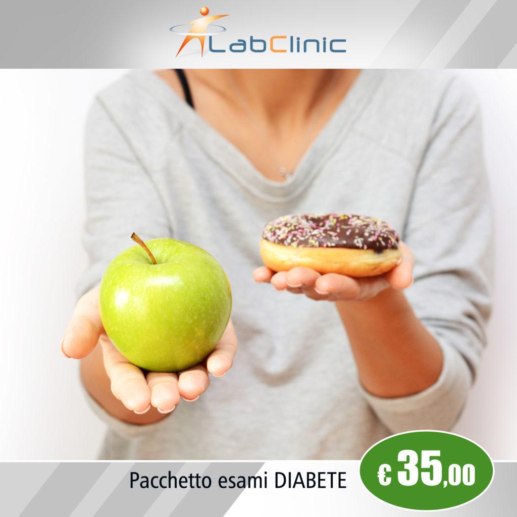 Pacchetto esami diabete