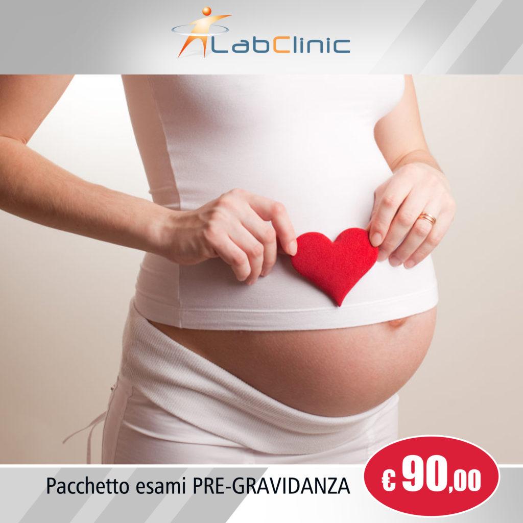 Pacchetto esami Pre-gravidanza